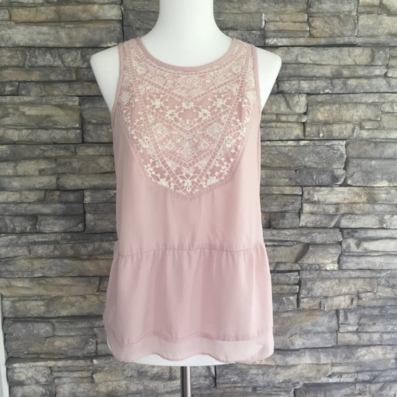 American Eagle Outfitters Tops - American Eagle Outfitters embroidered tank